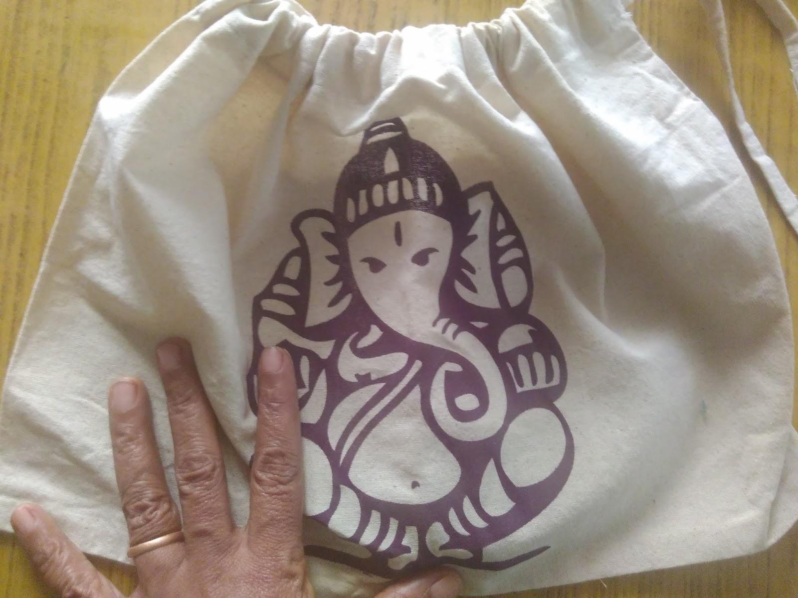 Large drawstring bags