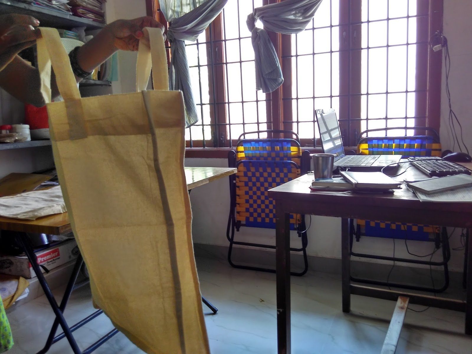 Larger capacity gusset bags