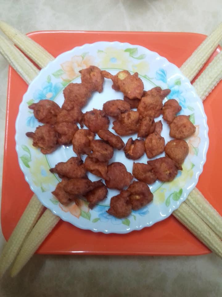 BABY CORN BAJJI ಬೇಬಿ ಕಾರ್ನ್ ಬಜ್ಜಿ